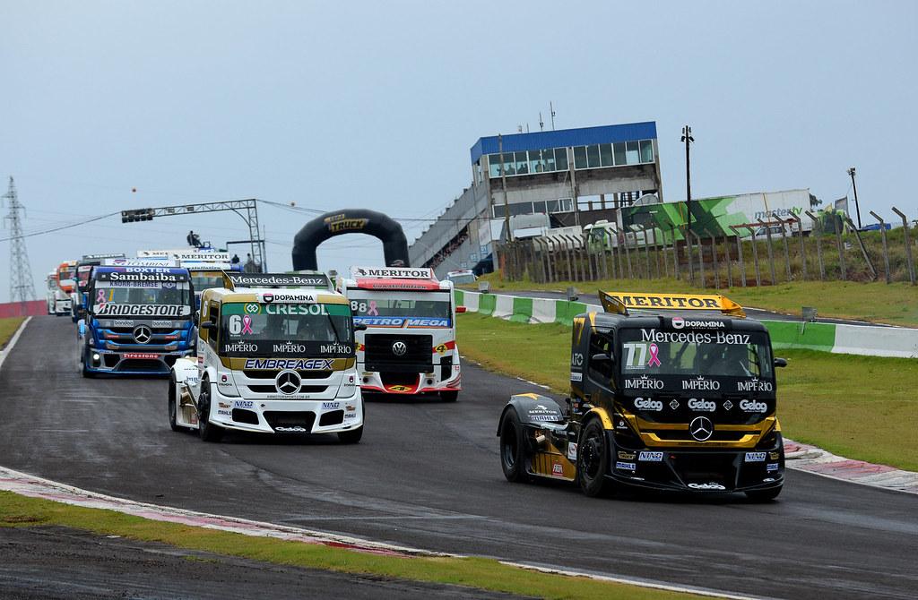 Copa Truck retorna às pistas com protocolo de conduta rígido firmado com a Prefeitura de Cascavel, e portões fechados para o público.