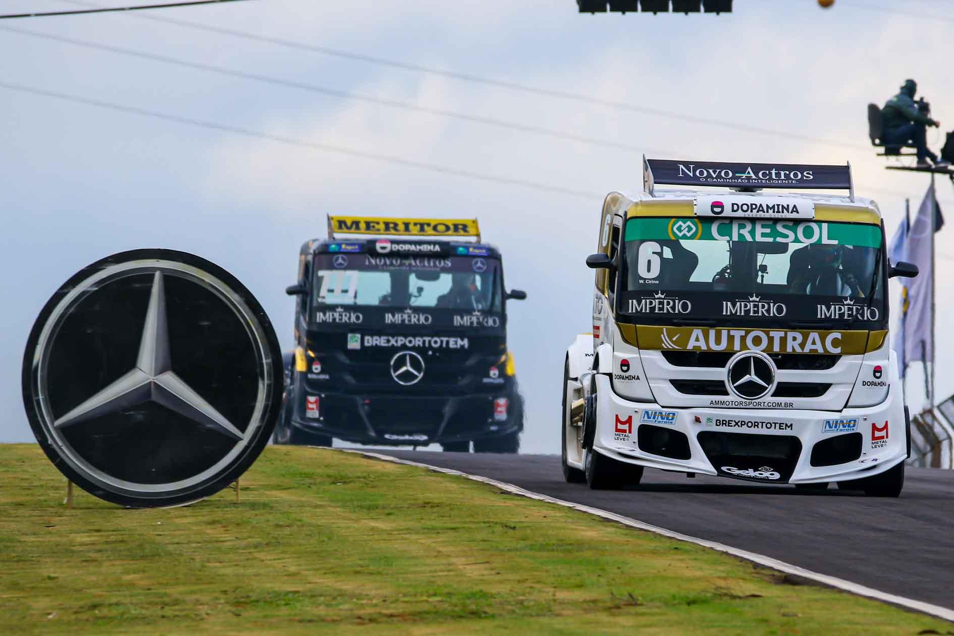 Mercedes-Benz lidera entre as montadoras após duas etapas