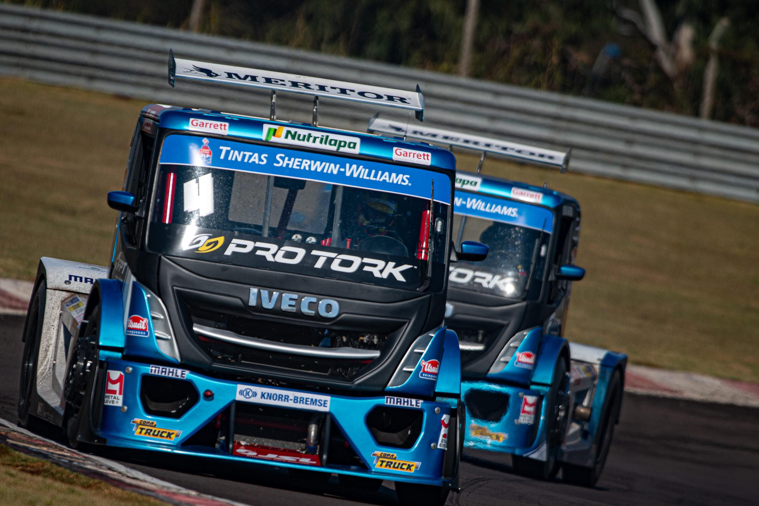 Iveco Usual Racing espera manter sequência de pódios no Paraná