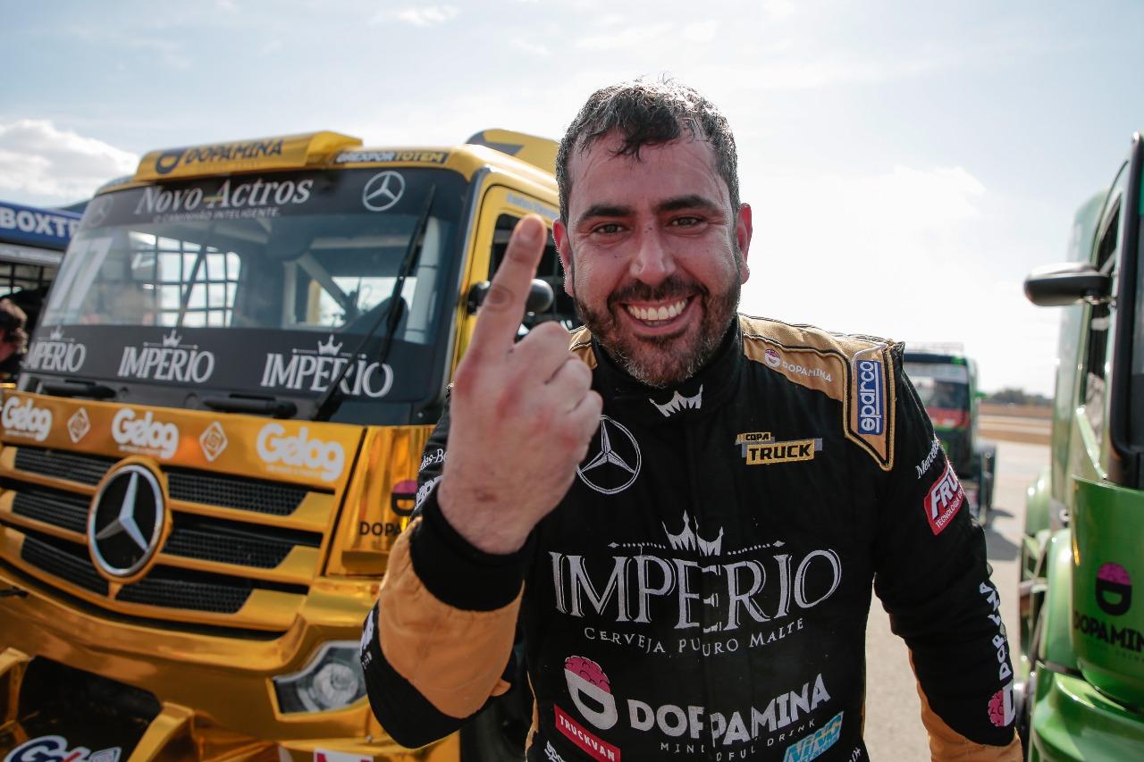 Marques celebra vitória e pontos para o Ranking da Grande Final