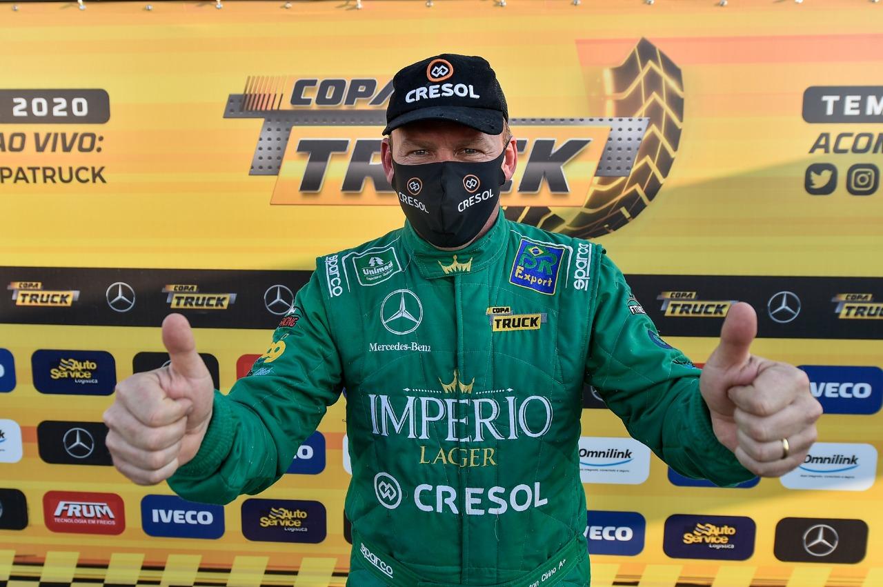 Cirino garante pole para última etapa antes da Grande Final