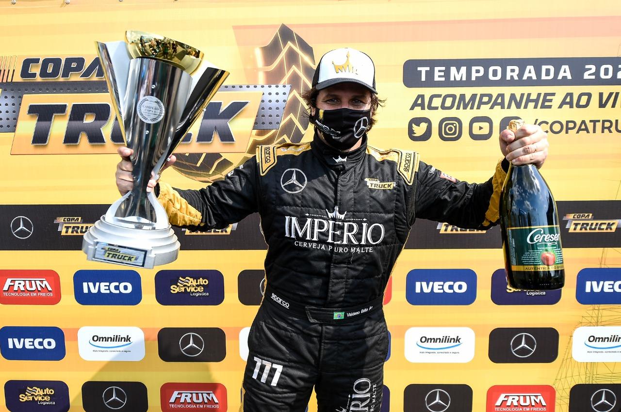 Copa Truck coroa Valdeno com título e chega à Grande Final com sete finalistas